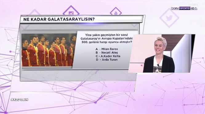 ''Ne Kadar Galatasaraylısın'' Biz sorduk, Işıl Alben cevapladı!