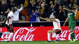 Valencia bu gollere alıştı! (ÖZET)