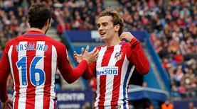 Atletico'yu yıldızları uyandırdı! (ÖZET)