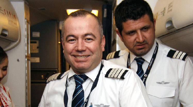 Uğurlu pilotlar sahaya indi