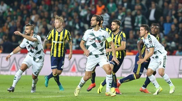 Fenerbahçe ile Konyaspor 32. kez