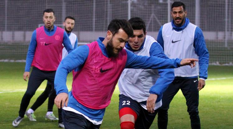 Antalya'da Kayserispor mesaisi