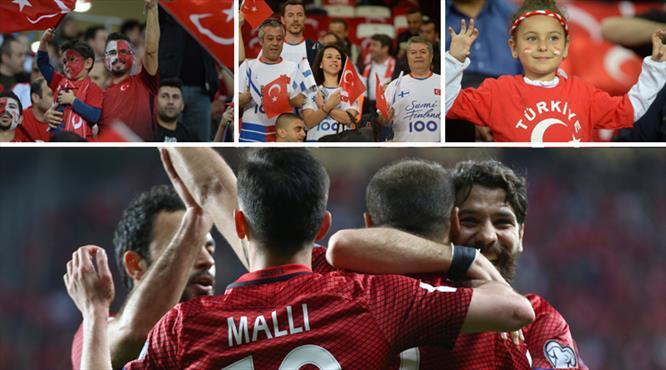 Antalya'da kırmızı beyaz şölen!