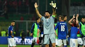 Buffon'un tarihi maçı İtalya'nın!