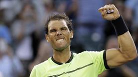 Nadal'dan 1000. maçında müthiş zafer