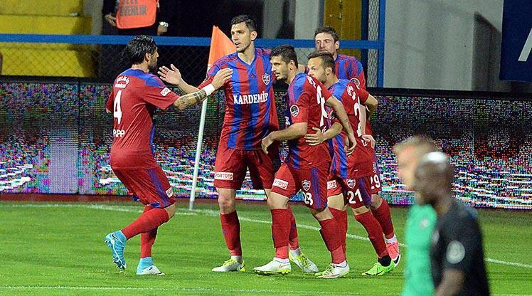 Kardemir Karabükspor'u rahatlatan galibiyet
