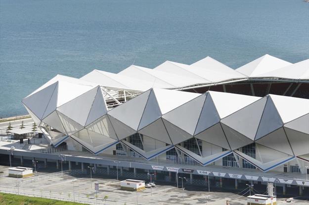Medical Park Arena'da çatı onarımı başladı