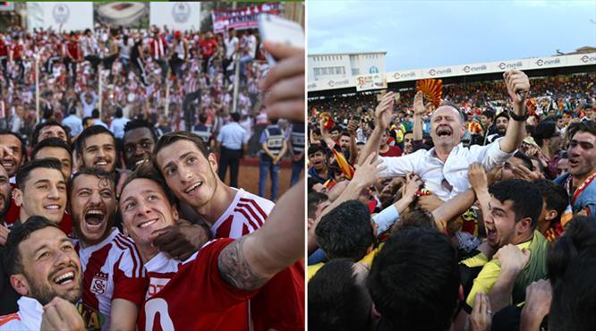 Sokaklar taştı! Süper Lig coşkusu!