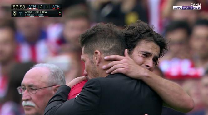 Vicente Calderon'a duygusal veda!