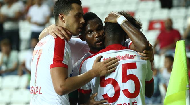 İşte Antalya'da perdeyi açan gol!