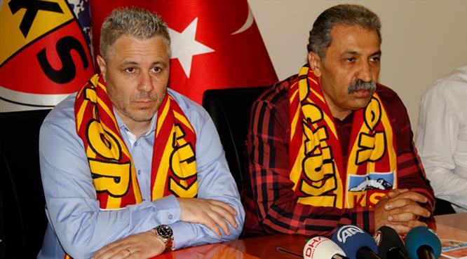 """Kayseri'nin yeni patronu iddialı geldi: """"Mourinho gibi..."""""""