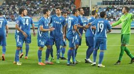 Inter Bakü avantajı kaptı