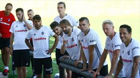 Beşiktaş denge ve kuvvet çalıştı
