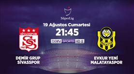 Demir Grup Sivasspor - Evkur Yeni Malatya