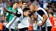 Zaza şov yaptı, Valencia Malaga'ya patladı (ÖZET)