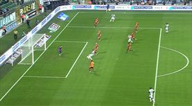 Bursaspor maça golle başlıyordu