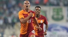 """İlk şutum gol oldu, Elhamdülillah"""