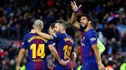 Messi'nin tarihi gecesinde Barça farkı (ÖZET)