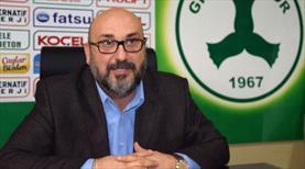 """""""Giresunspor'dan biri gidecekse bir bedeli olacak"""""""