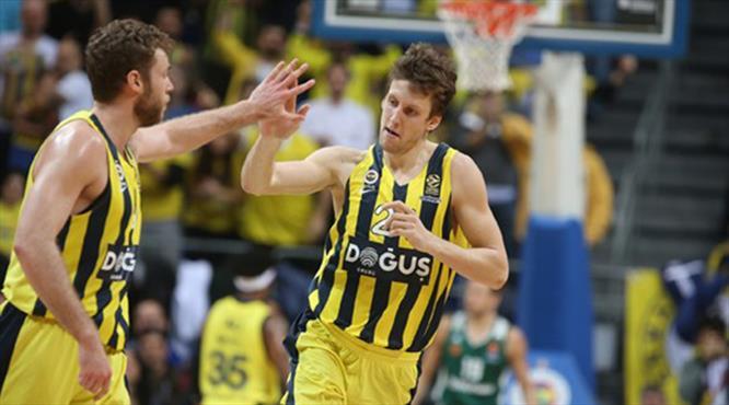 Fenerbahçe Doğuş söktü aldı (ÖZET)