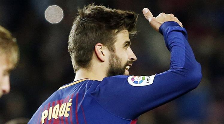 Barça'dan Pique'ye 4 yıllık yeni sözleşme