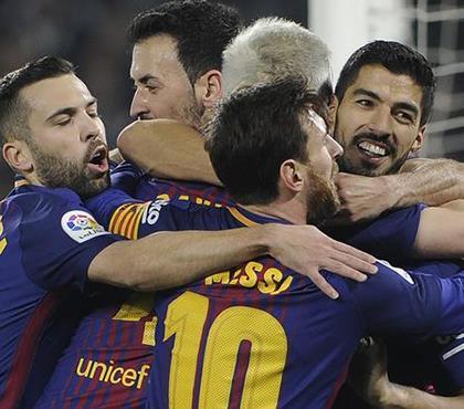 5-0! Barça'dan gövde gösterisi! (ÖZET)