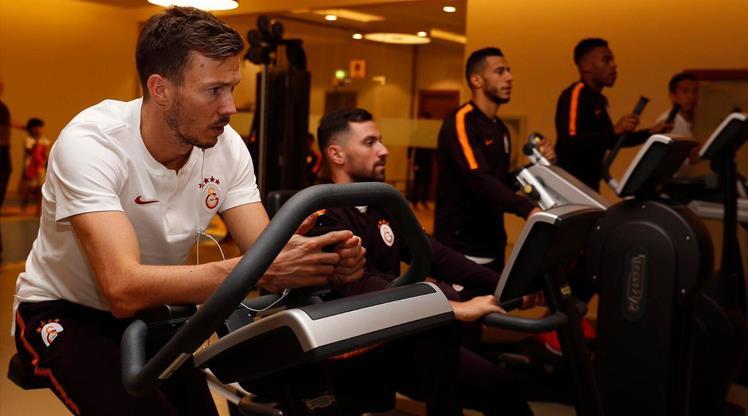 Galatasaray'da yenilenme antrenmanı