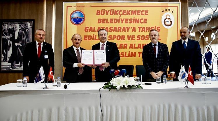 İmzalar atıldı! Galatasaray'a 130 dönümlük arazi
