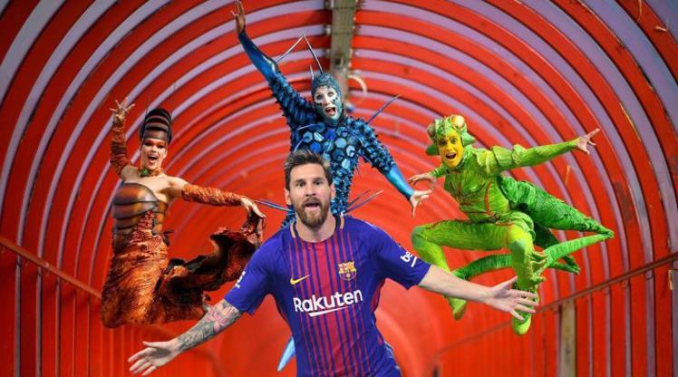 Messi için tarihi gösteri