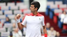 Djokovic Shanghai'da finalde