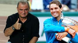Nadal'dan Terim'e özel hediye