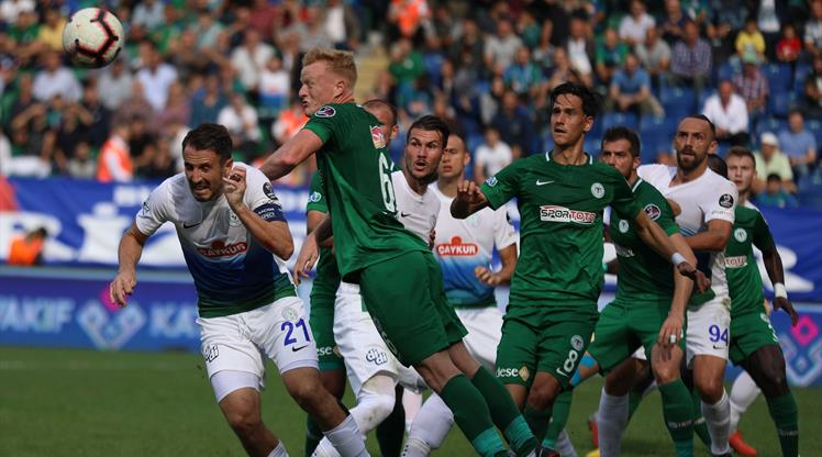 Çaykur Rizespor - Atiker Konyaspor: 1-1 (ÖZET)