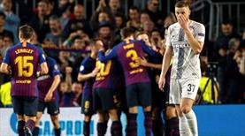Dev maçta son gülen Barcelona