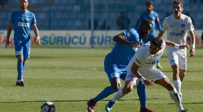 BB Erzurumspor - Kasımpaşa: 1-1 (ÖZET)