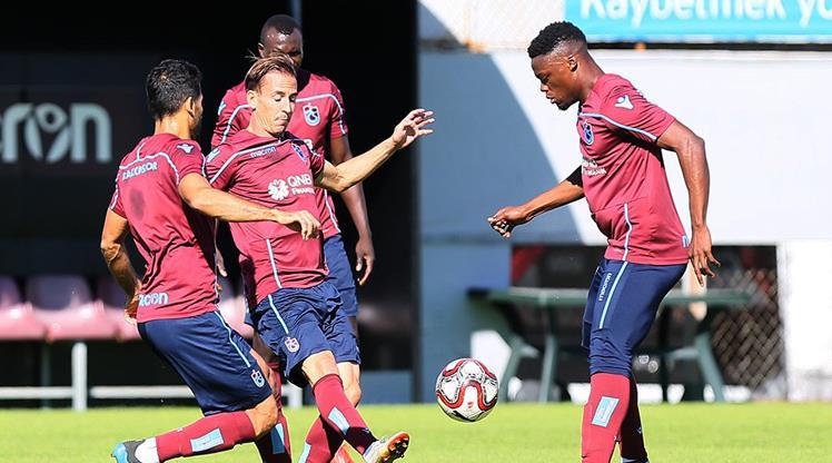 Trabzon'da kupa mesaisi başladı