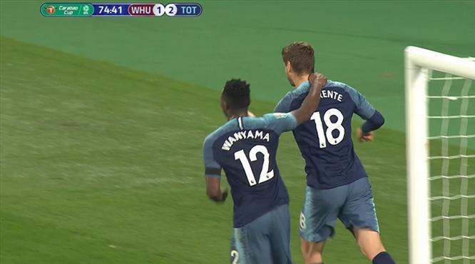 Tottenham morali kupada buldu (ÖZET)