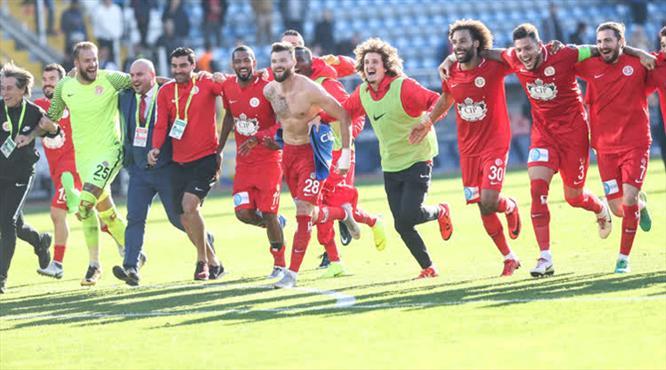 Kasımpaşa - Antalyaspor: 1-2 (ÖZET)
