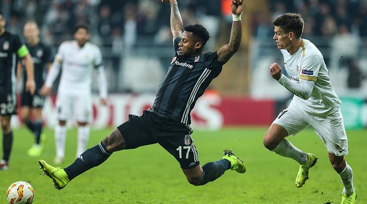 Beşiktaş Belçika deplasmanında