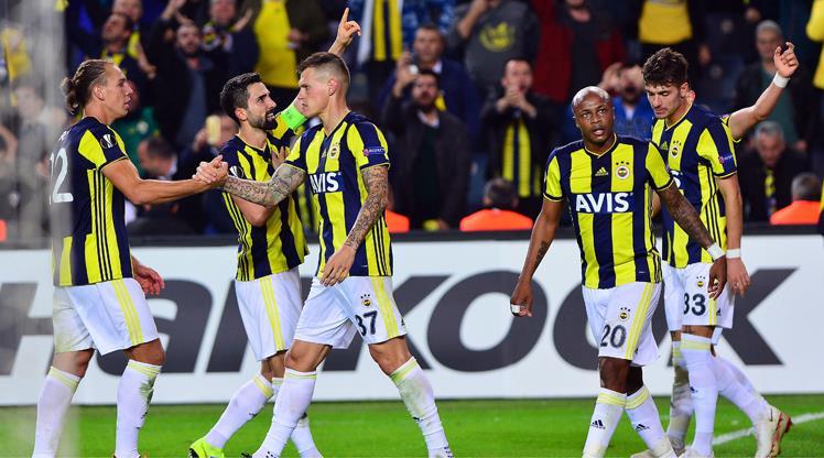 Fenerbahçe'nin zaferi Belçika basınında!