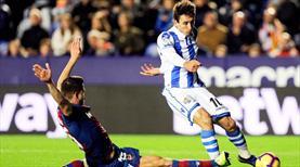Real Sociedad ikinci yarı coştu (ÖZET)