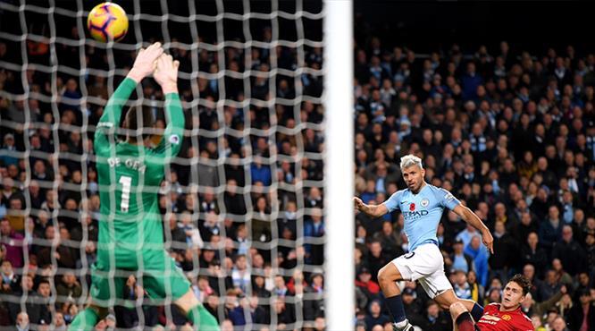 Derbide gülen Guardiola! City zirveyi bırakmadı (ÖZET)