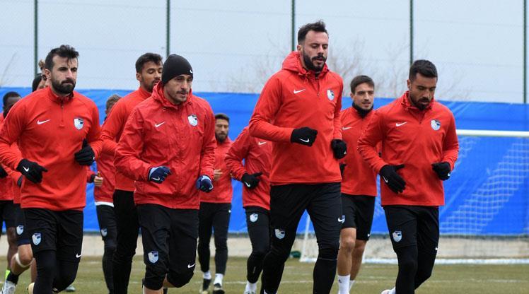 Erzurum Antalya maçına hazır