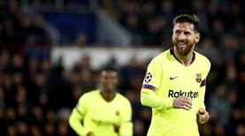 Devler Ligi'ne Messi damgası