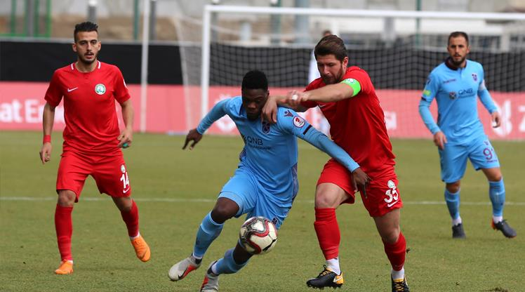 Trabzon turu rövanşa bıraktı