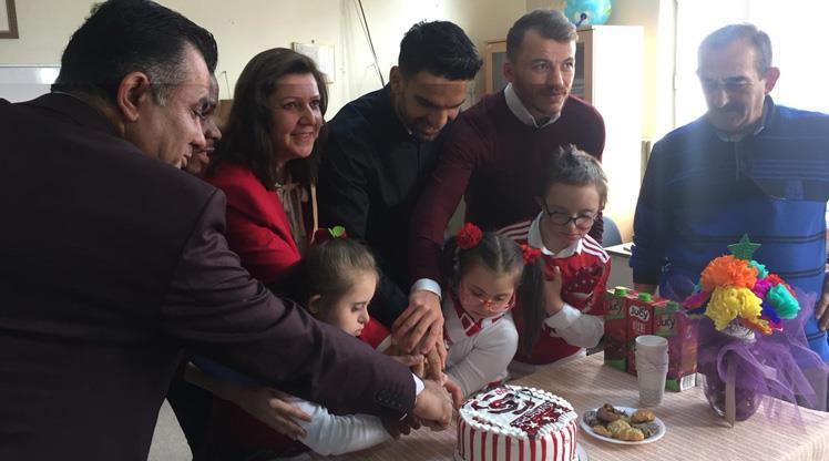 Sivas'tan öğrencilere sürpriz ziyaret