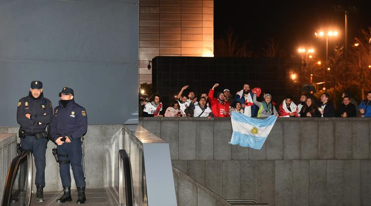 Madrid'de Libertadores alarmı