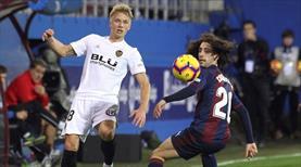 Valencia kaçtı, Eibar yakaladı