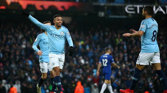 Manchester City Everton'a acımadı (ÖZET)