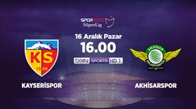 Kayserispor - Akhisarspor