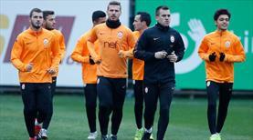 Galatasaray maç saatini bekliyor